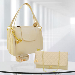 AP Victoria Cream Bag