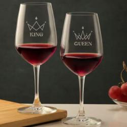 Pair Wine Glasses