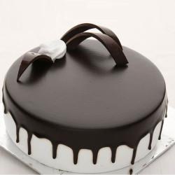 Round Choco Truffle Cake