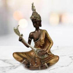 Beautiful Musical Lord Buddha Statue