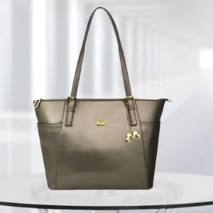 AP Zinnia Gun Metal Color Bag - Branded Handbags Online