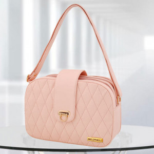 AP Whitney Pink Color Bag