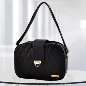 AP Black Color Baghandbag - Branded Handbags Online