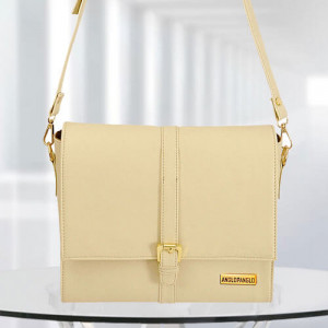 AP Scarlett Cream Color Bag - Branded Handbags Online
