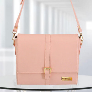 AP Scarlett Pink Color Bag - Branded Handbags Online