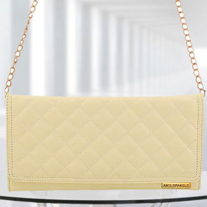 AP Ashley Cream Color Bag - Branded Handbags Online