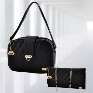 AP Whitney Black Bag