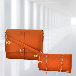 AP Scarlett Tan Bag