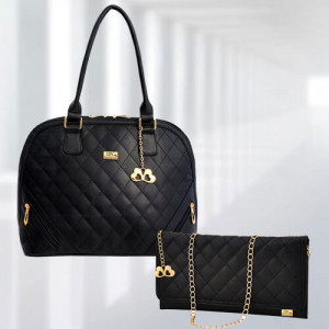 AP Sophia Black Bag - Branded Handbags Online