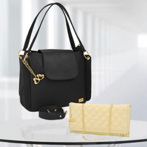 AP Victoria Black Bag - Branded Handbags Online