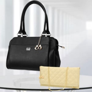 AP Freya Black Bag - Branded Handbags Online