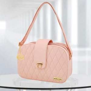 MK Whitney Pink Color Bag