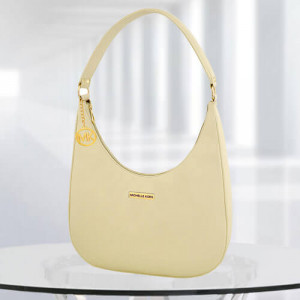 MK Isabella Cream Color Bag - Branded Handbags Online