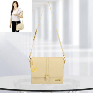 MK Scarlett Cream Color Bag