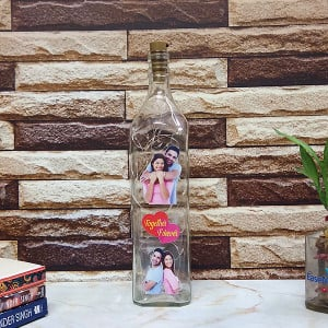 Love Led Bottle Lamp - Personalised Photo Gifts Online