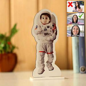 Customised Astronaut Caricature - Personalised Caricatures Online
