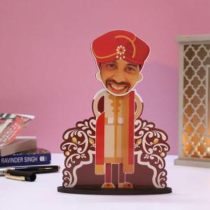 Customised Dulha Caricature - Personalised Caricatures Online