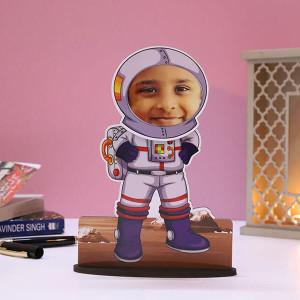 Customised Bobble Astronaut Caricature - Personalised Caricatures Online