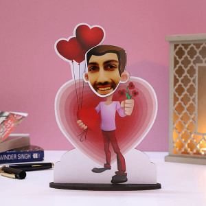 Customised Lover Boy Caricature - Personalised Caricatures Online