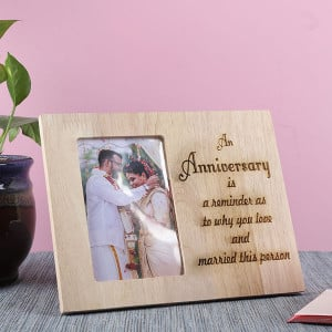 Customised Anniversary Frame - Personalised Photo Frames Gifts