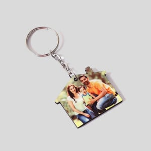 Personalised Sweet Home Key Chain - Personalised Key Chains Online