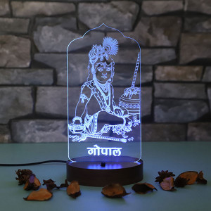 Personalised Gopal Led Lamp - Personalised Photo Lamps