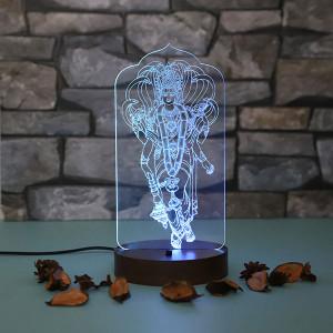 Lord Vishnu Led Lamp