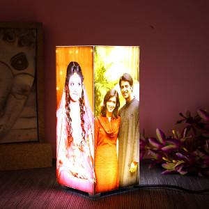 Personalised Corner Table Lamp