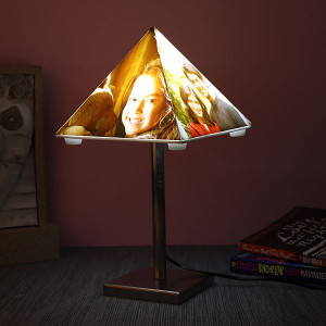 Personalised Unique Lamp With Stand - Personalised Photo Lamps