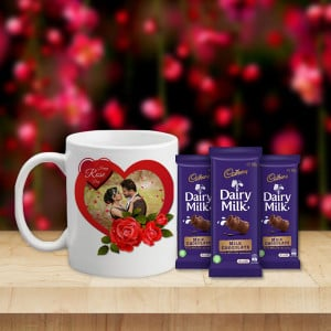 Mug with Three Chocolate