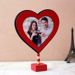 Personalised Heart-Shaped Frame
