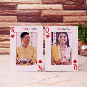 Personalised Playing Card Frame
