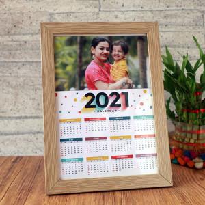 Personalised Fascinating Desk Calendar