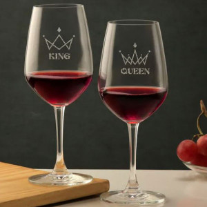 Pair Wine Glasses
