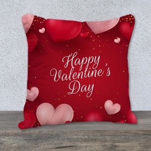 Charming Red Cushion