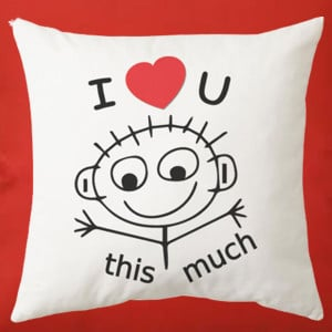 Elegant Love Pillow