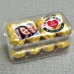 Personalised Ferrero Rocher Box