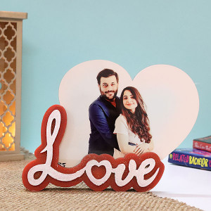 Personalised Love Photo Frame - Personalised Photo Frames Gifts
