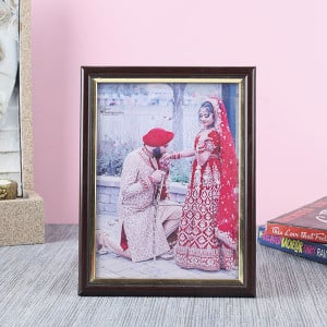 Customised Plastic Moulding Photo Frame - Personalised Photo Frames Gifts