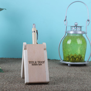 Personalised Wooden Pen Holder