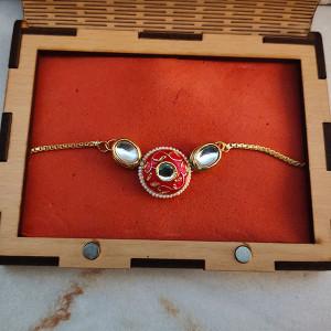 Rakhi Wooden Gift Box