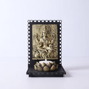 Maa Laxmi Idol T Light Holder