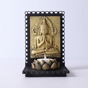 Serene Buddha T Light Holder