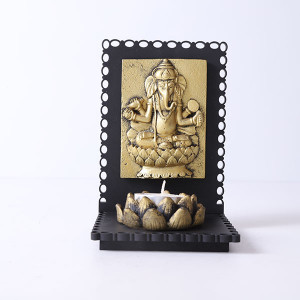 Lord Ganesha T Light Holder