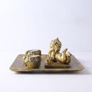 Ganesha T Light Holder - Online Home Decor Items