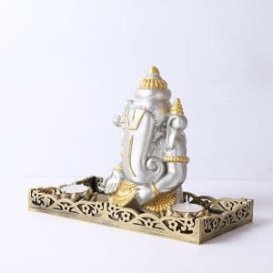 Ganpati Gift Set With Tray