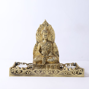 Antique Meditating Buddha Gift Set