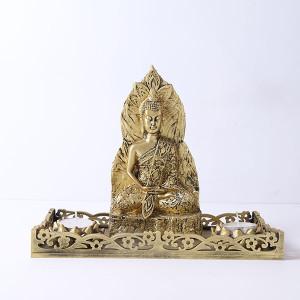 Antique Meditating Buddha Gift Set - Online Home Decor Items