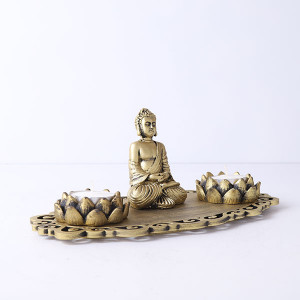 Buddha Decorative T Light Holder - Online Gift Ideas