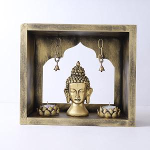 Buddha God Head In Mandir - Online Home Decor Items